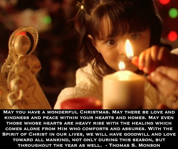 lds quotes christ in christmas quotesgram