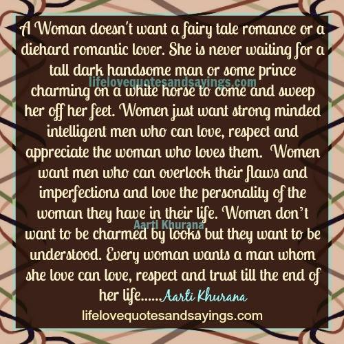 What Women Want Quote: Love Quotes For Women. QuotesGram