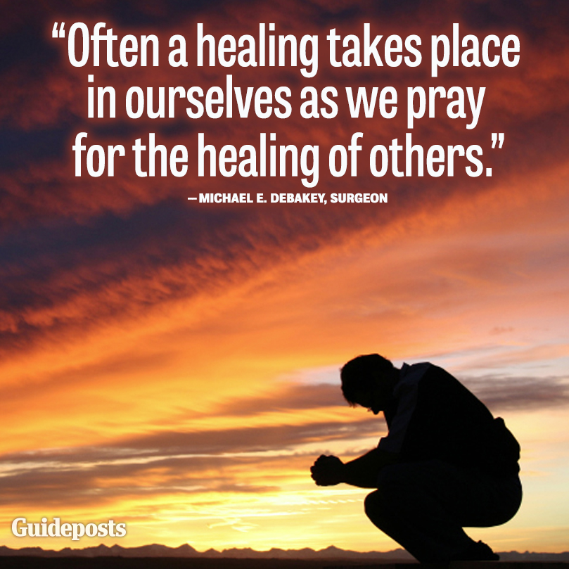 healing power of prayer quotes quotesgram