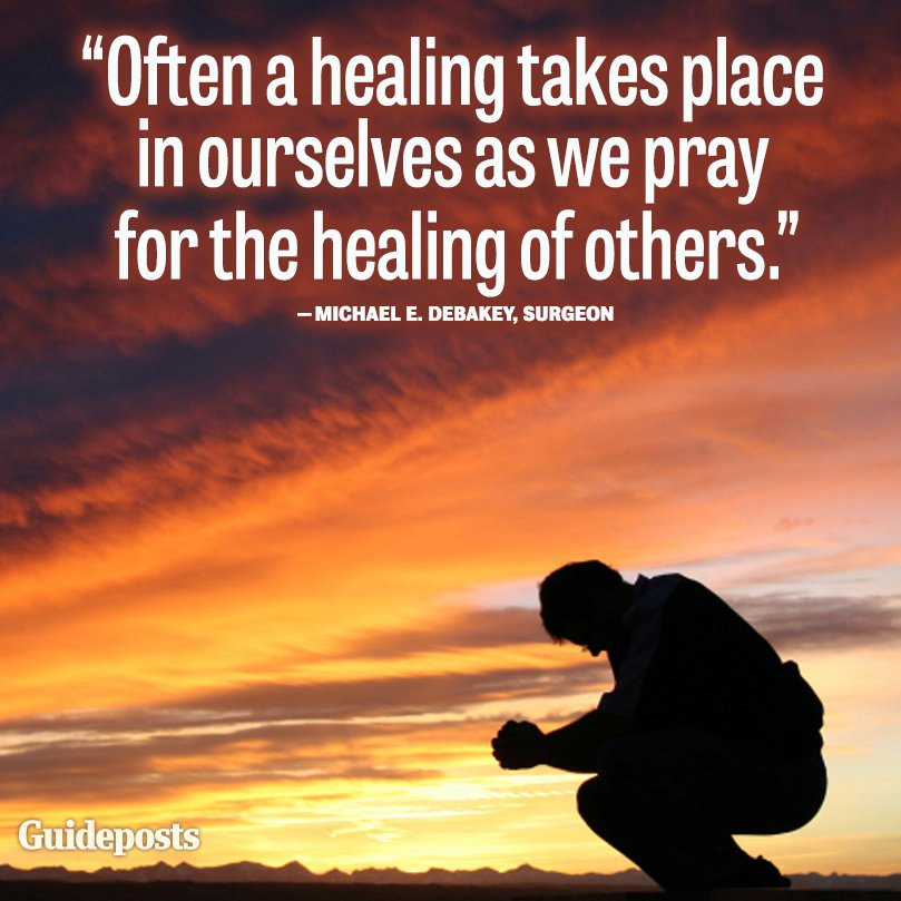 Quotes About Inspiring Others: Healing Power Of Prayer Quotes. QuotesGram