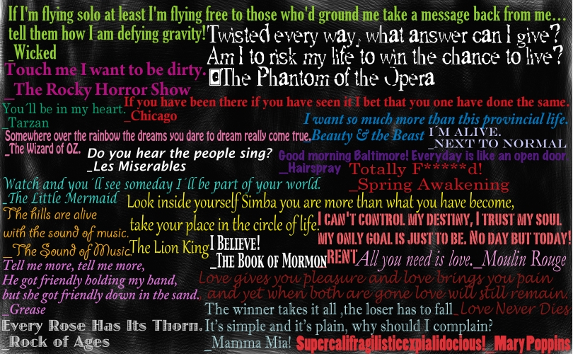 Funny Quotes From Broadway Musicals Quotesgram