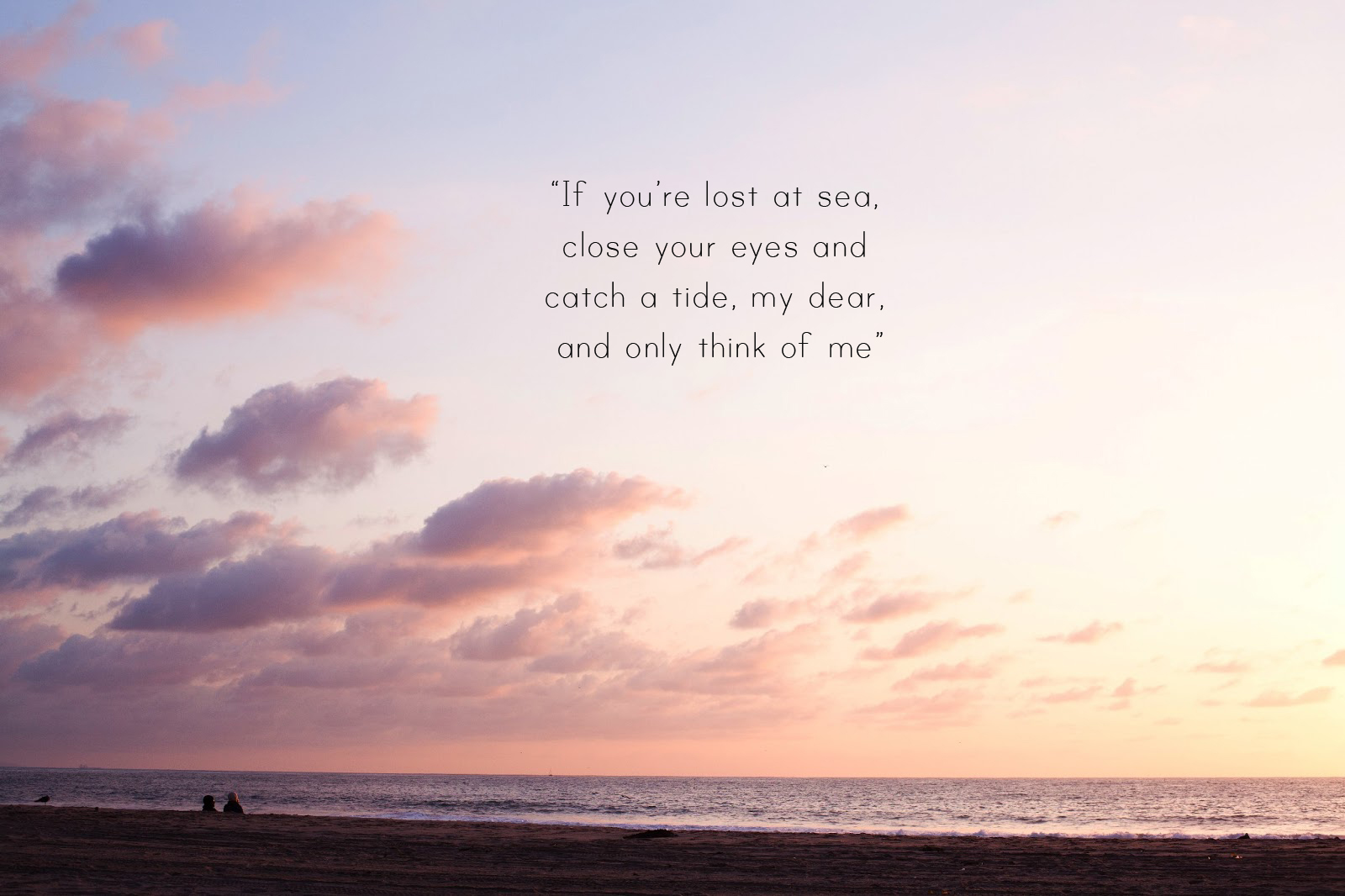 Quote About The Sea: Lost At Sea Quotes. QuotesGram