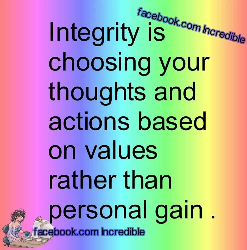 Quotes And Sayings: Integrity Quotes And Sayings. QuotesGram