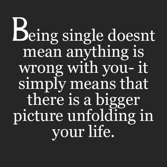 Inspirational Quotes About Being: Inspirational Quotes On Being Single. QuotesGram