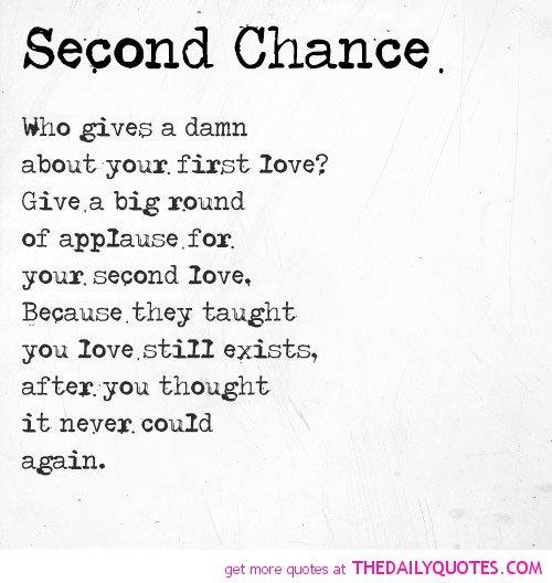 famous quotes about second chances quotesgram