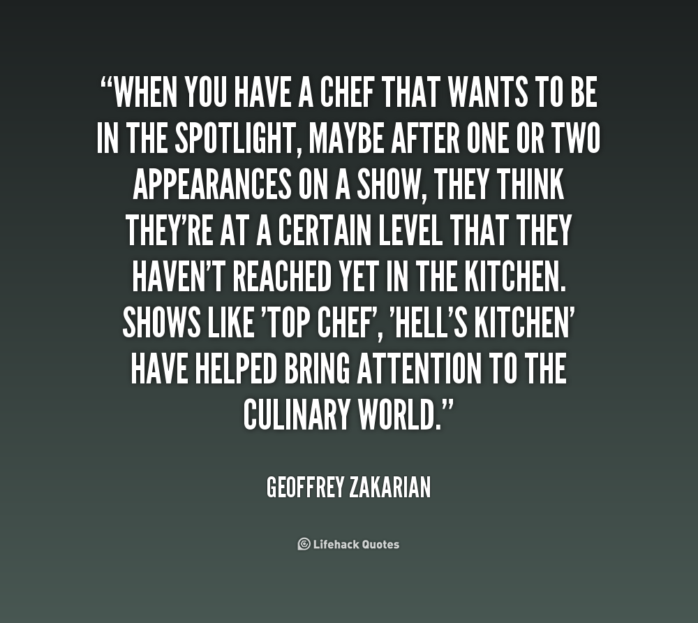 dating a chef quotes and sayings