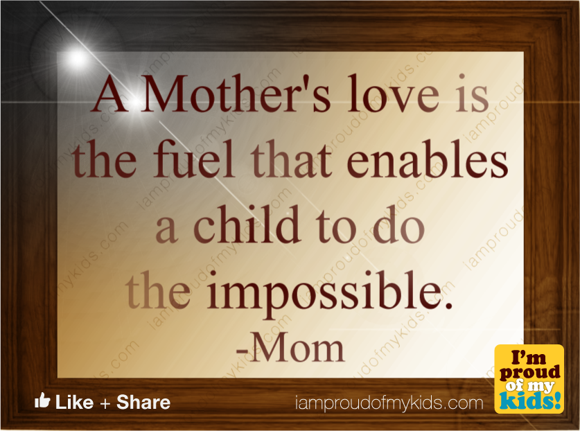 researching the unmatched love of the mother