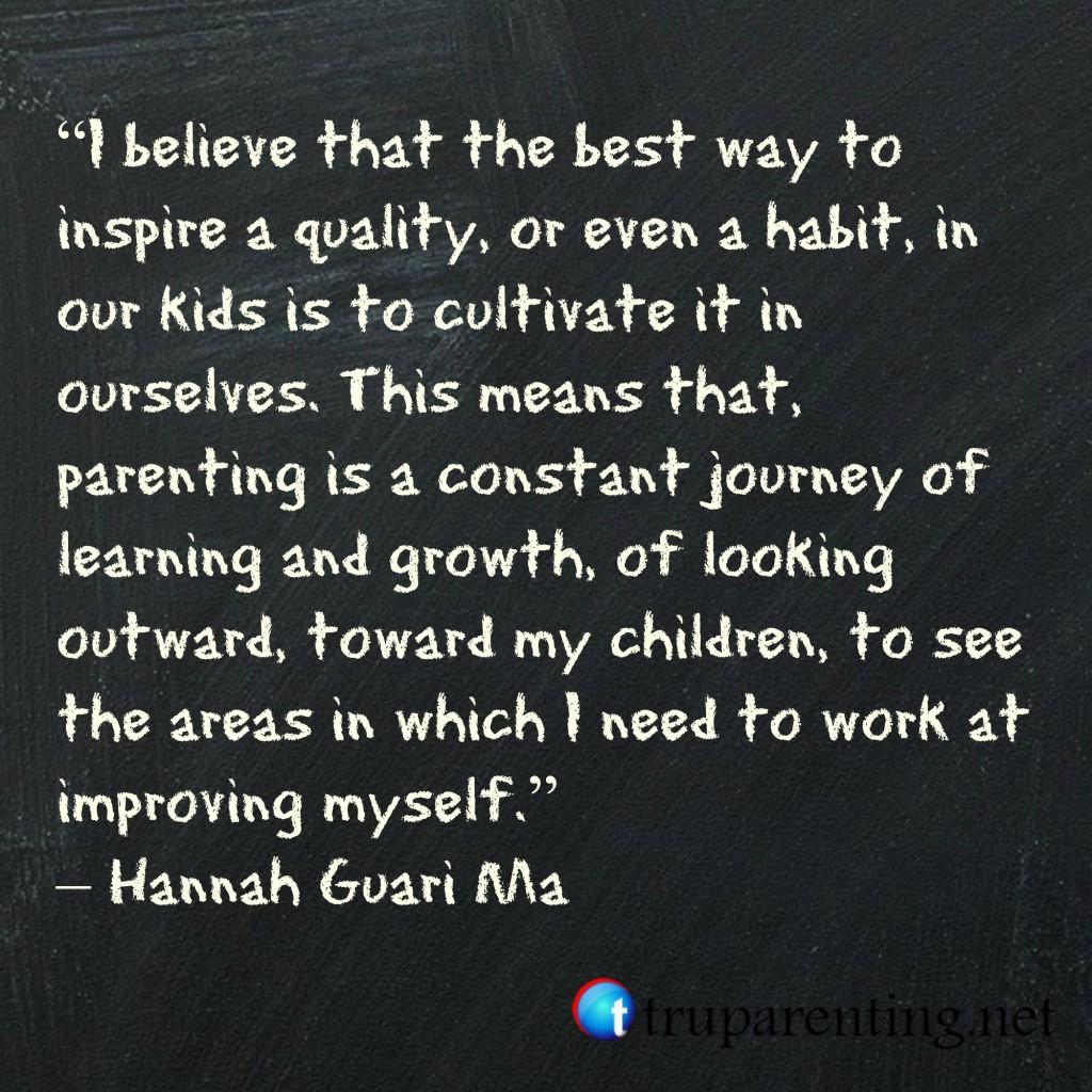 Inspirational Quotes For Children From Parents: Parenting Skills Quotes. QuotesGram