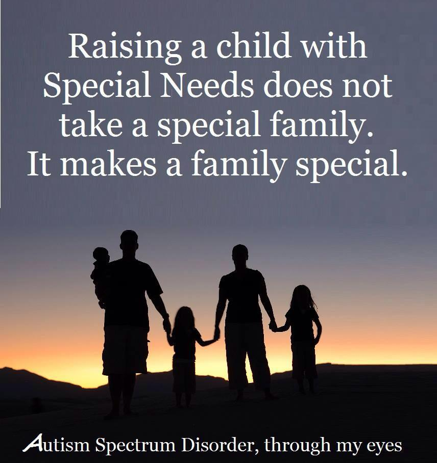 Special Needs Quotes: Special Needs Daughter Quotes. QuotesGram