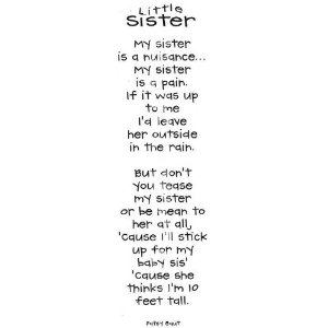 my little brother was born You see, i hated my brother and he hated me to the point of pathology so much so that we hadn't even seen or spoken to each other for 20 years  he was born 18 months after me, following a .
