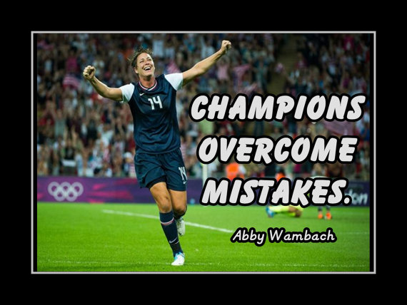 Quotes About Soccer Abby Wambach. QuotesGram