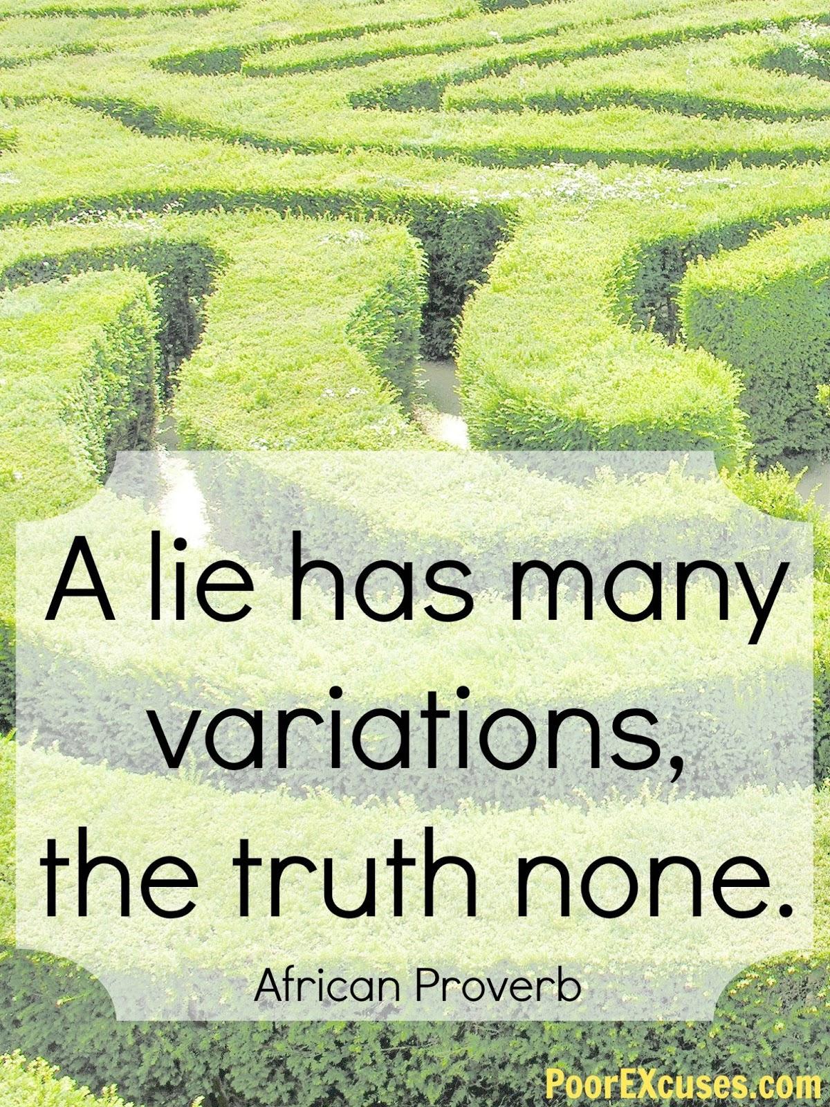 The Destructive Power of Lies