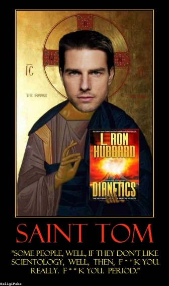 Tom Cruise Scientology...