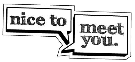 latin phrases nice to meet you