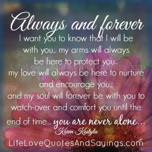 forever and always relationship quotes