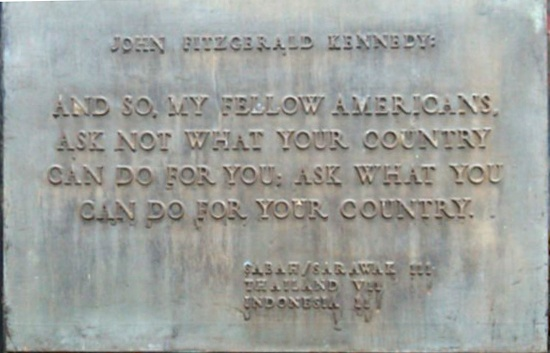 jfk peace corps quotes quotesgram