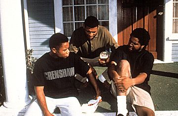 ideology in boyz in the hood Critical analysis of race in film boyz n the hood have them consider the prevailing ideology represented in boyz n the hood, and ask them if there are differing views of the hood world that fight with one another within the text.