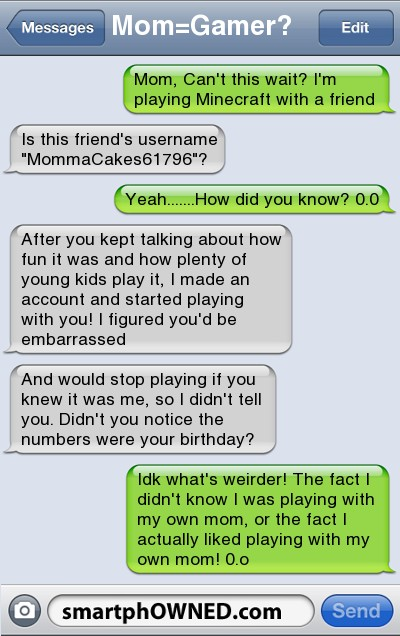 how to play a player texting