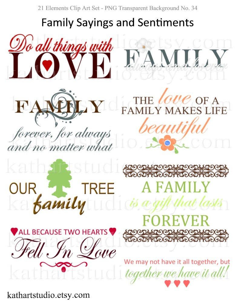 Family Quotes For Scrapbooking. QuotesGram