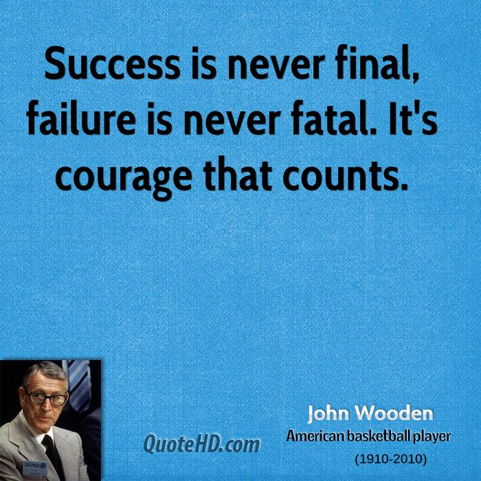 Inspirational Quotes About Failure: John Wooden Quotes On Education. QuotesGram