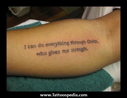 Tattoo Scriptures Quotes Quotesgram