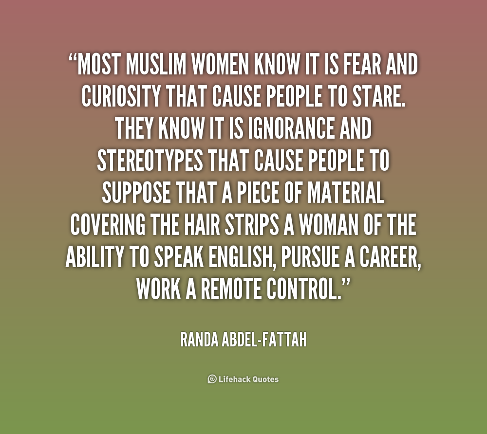 Quotes About Women: Muslim Women Quotes. QuotesGram
