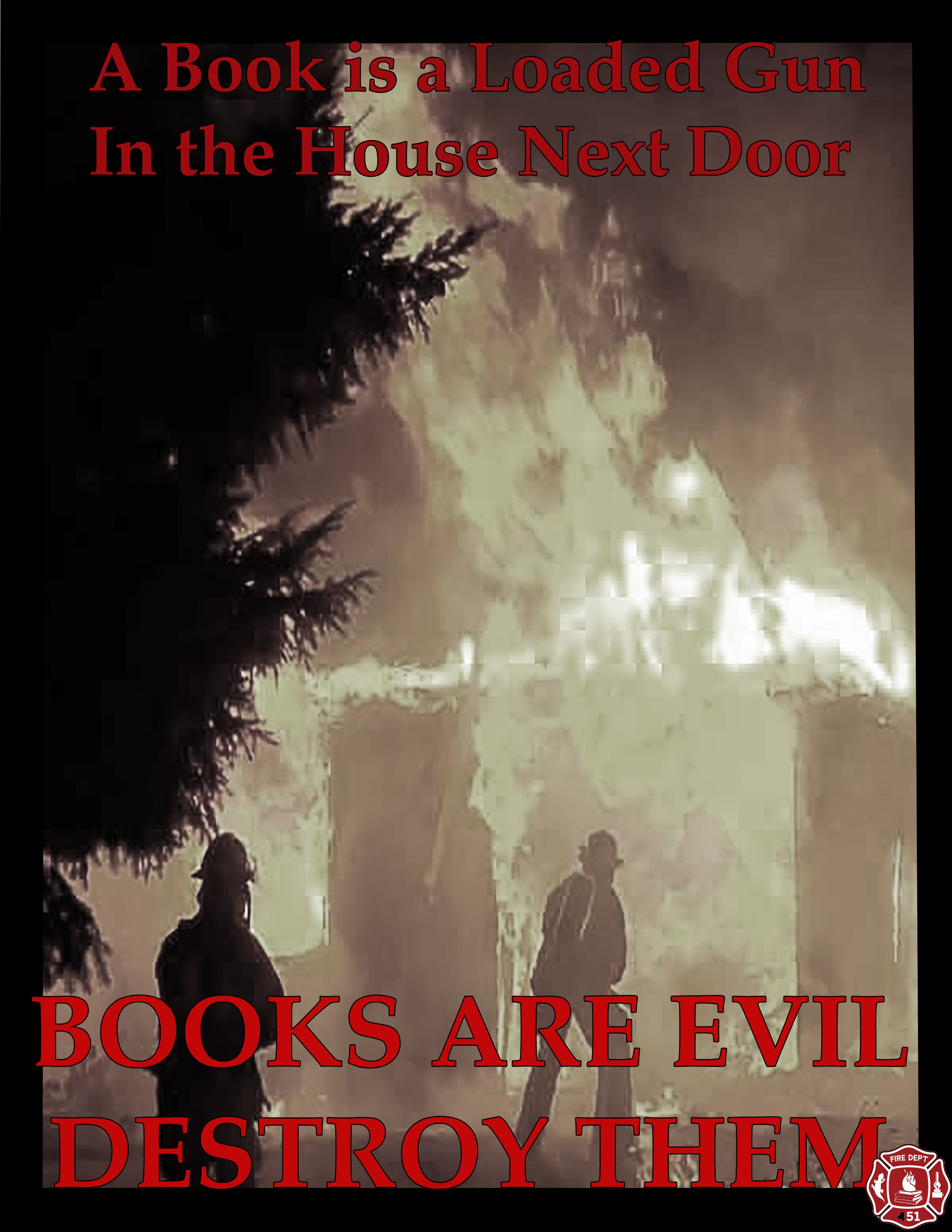 Fahrenheit 451 Quotes About Burning Books With Page Numbers: Book Burning Fahrenheit 451 Quotes. QuotesGram