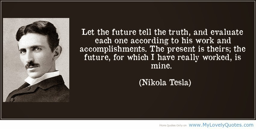 powerful quotes nikola tesla quotesgram