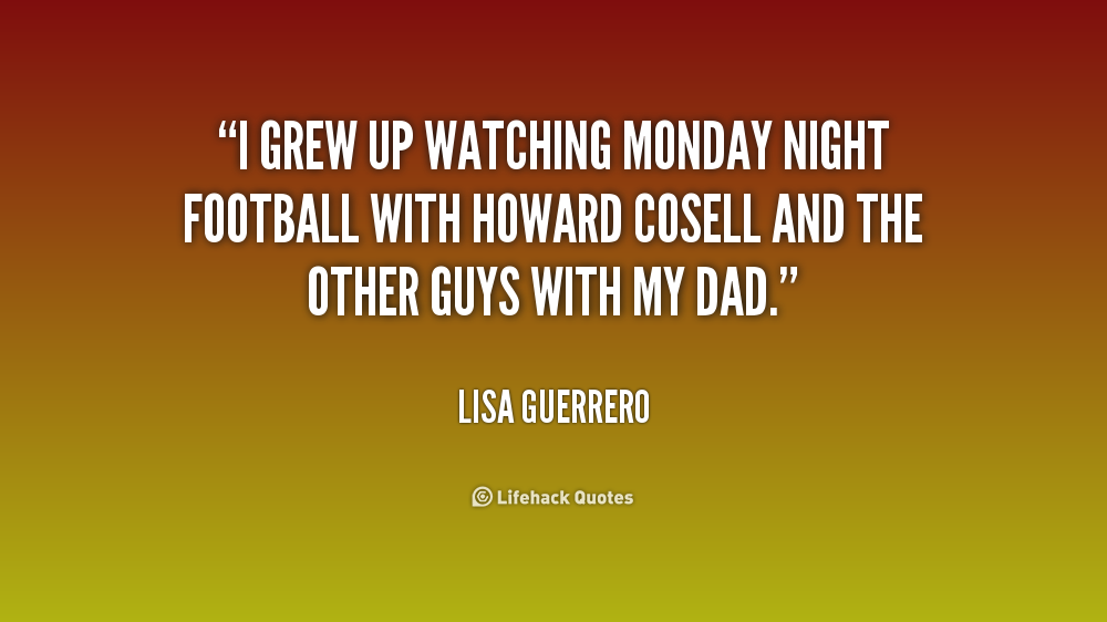 Quote Lisa Guerrero I Grew Up Watching Monday Night Football in addition Louise Redknapp together with  further Showgirl Xa Lo as well Picture. on lisa guerrero