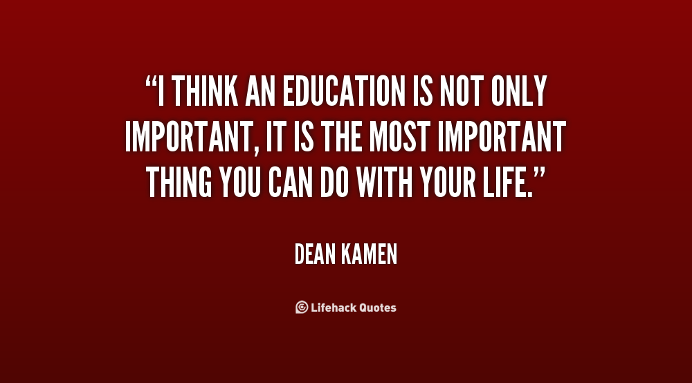 Why Education Is Important Quotes. QuotesGram