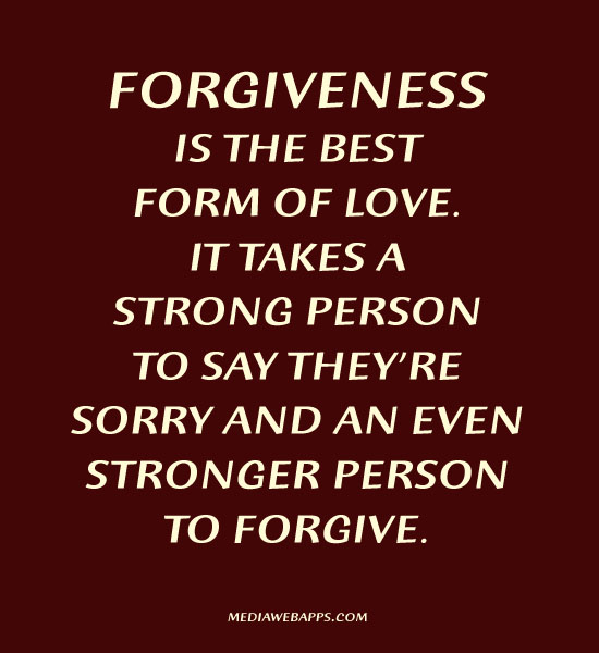 Quotes Forgiveness Love Relationships: Stronger Quotes Forgiveness. QuotesGram