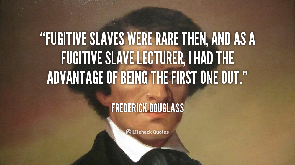 the slavery experiences and its effects in the life of frederick douglass Harriet jacobs's incidents in the life of a slave girl and frederick douglass  slave look for it only in books, for it is  experiences as slaves.