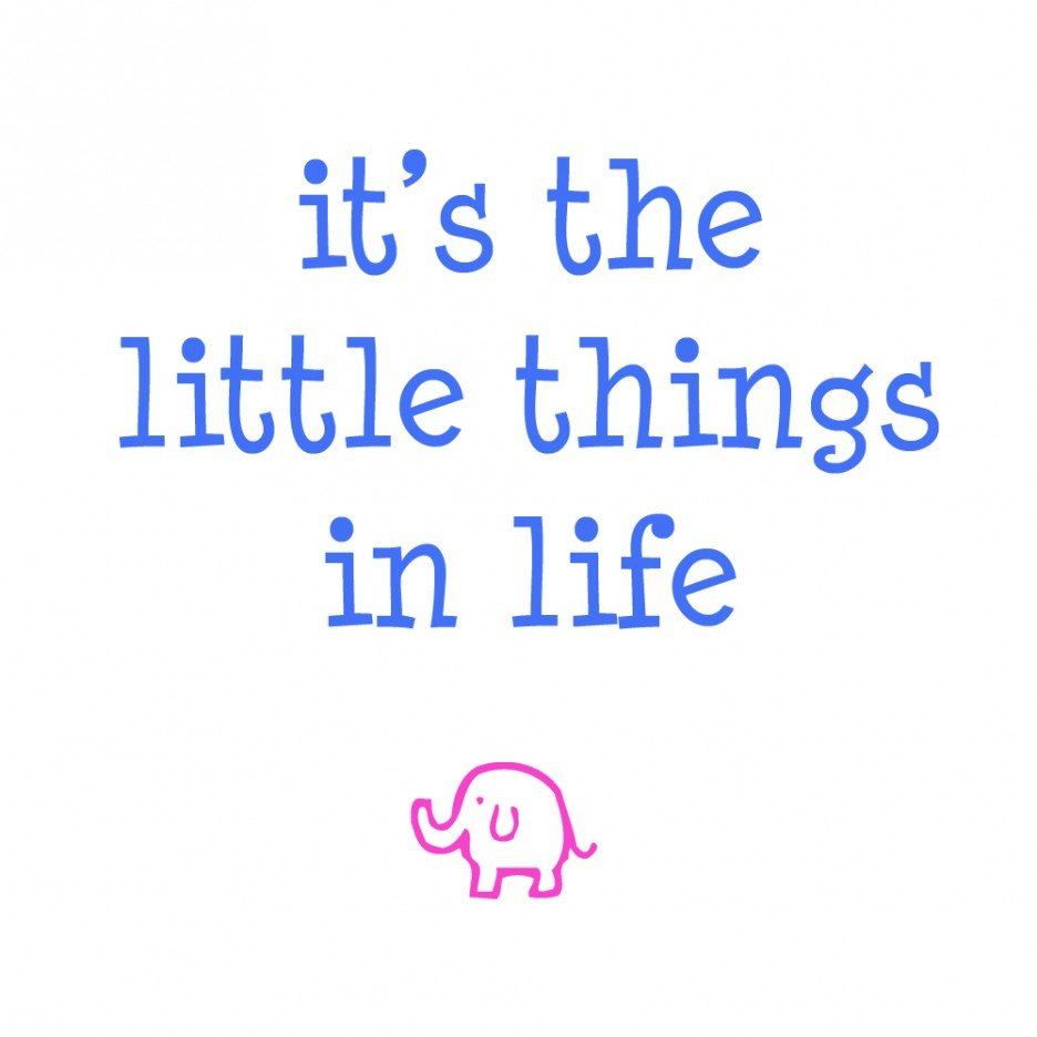 simple little things in life quotes quotesgram