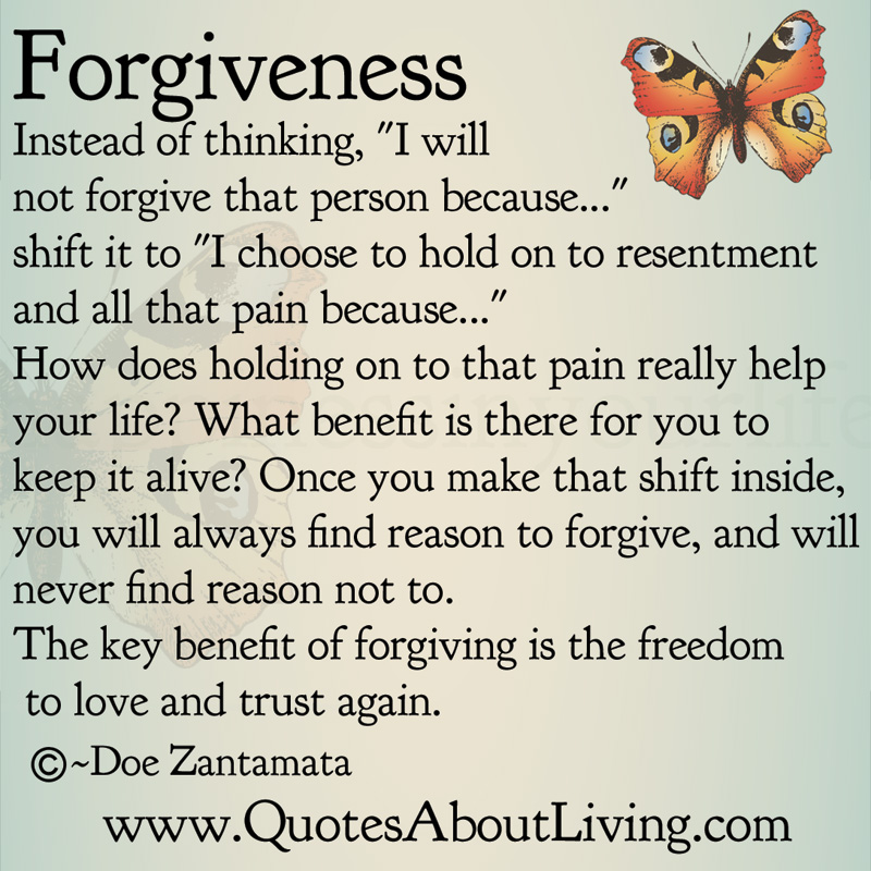 Forgiveness Quotes And Poems. QuotesGram