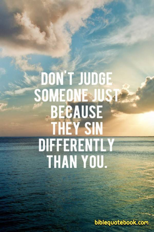 Bible Quotes About Not Judging. QuotesGram