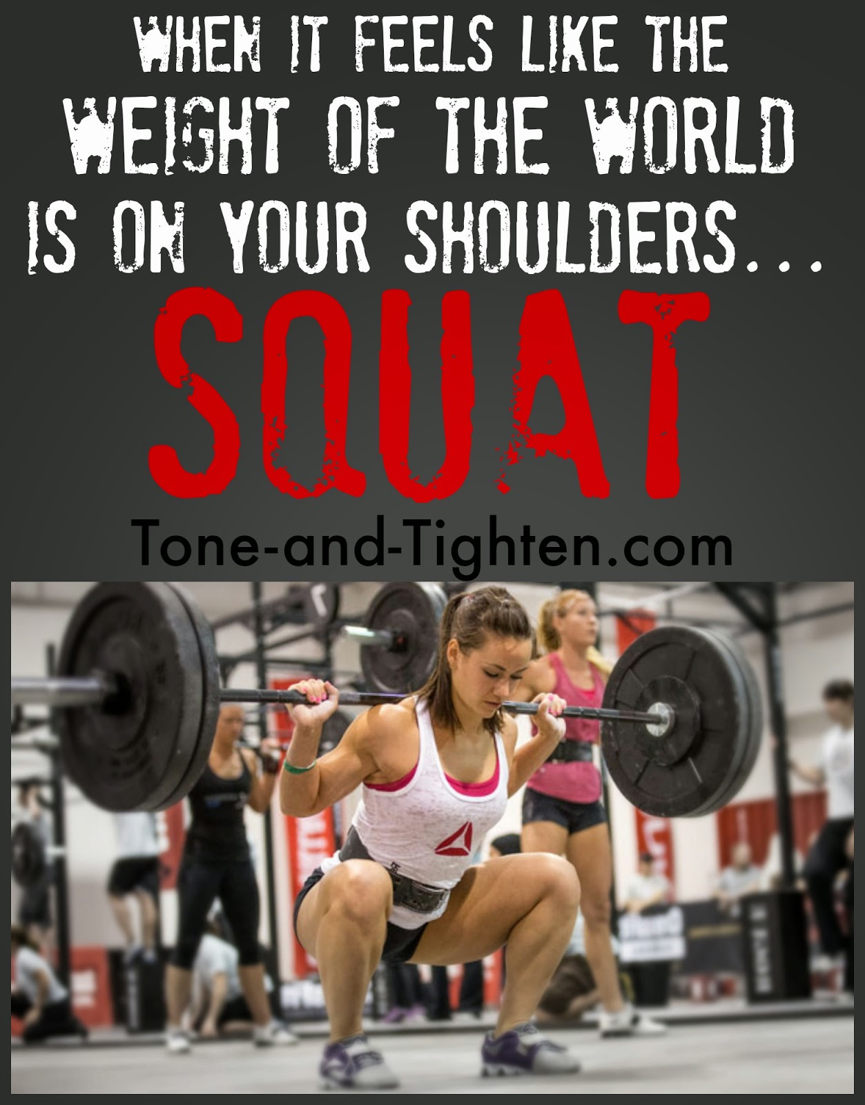 Squat workout quotes quotesgram