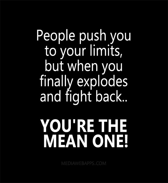 Mean People Quotes: Quotes And Sayings About Mean People. QuotesGram