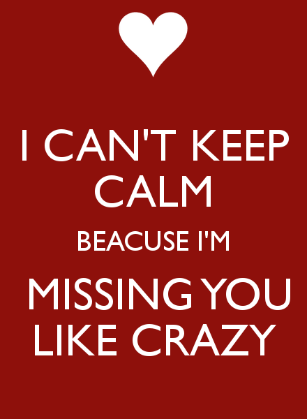 Missing Someone Gets Easier Every Day Pictures Photos: Like Crazy Miss You Quotes. QuotesGram