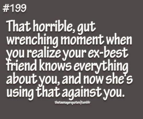 Ex Best Friend Quotes. QuotesGram