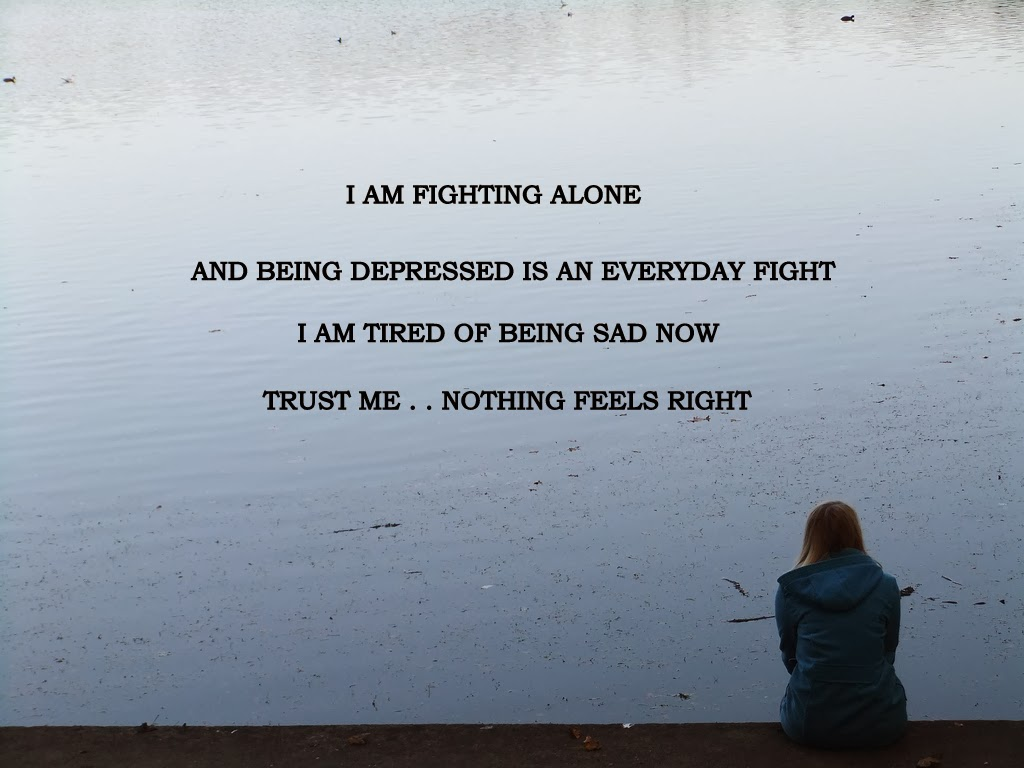 130 Sad Quotes And Sayings: Depressing Quotes About Being Alone. QuotesGram