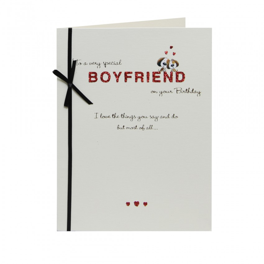 Birthday Card Boyfriend Birthday Card For Him Birthday: Inspirational Birthday Quotes For Boyfriend. QuotesGram