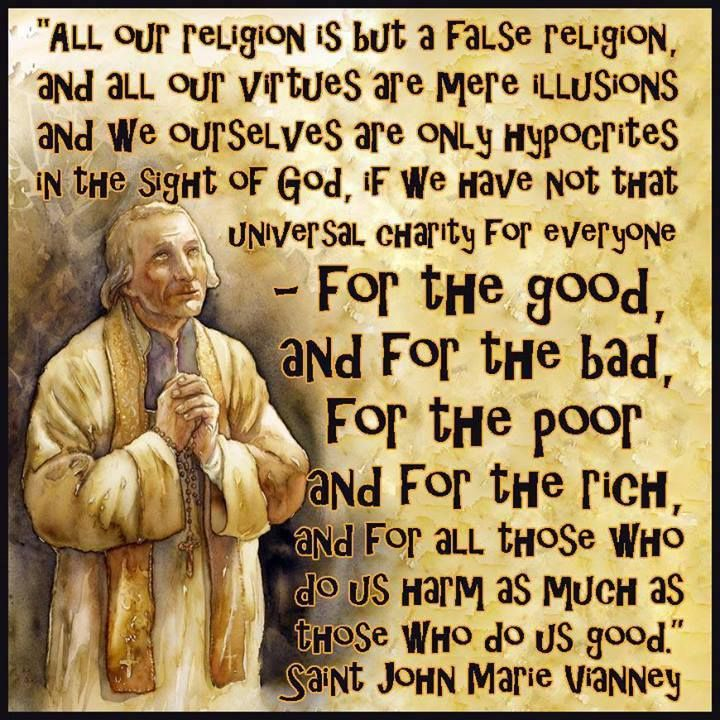 Quotes Of Pictures: Saint John Vianney Quotes. QuotesGram