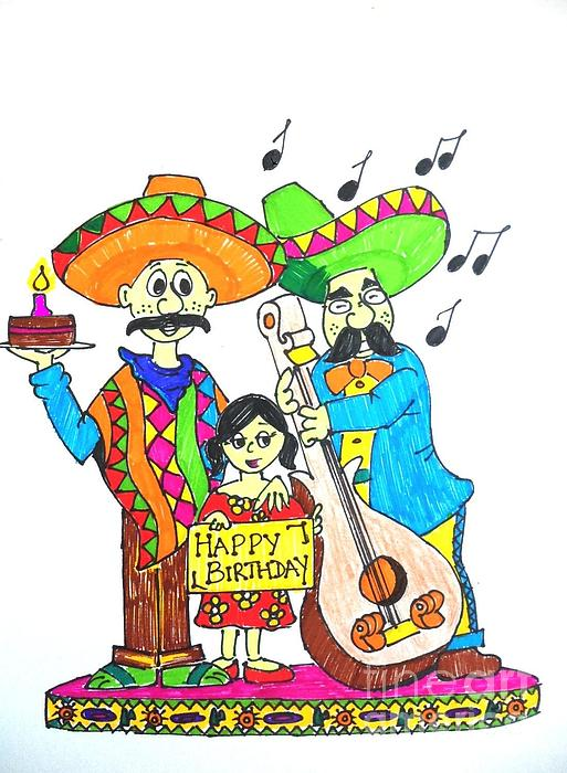 Gif mexican happy birthday