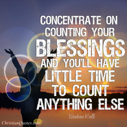 Christian Quotes On Blessings. QuotesGram