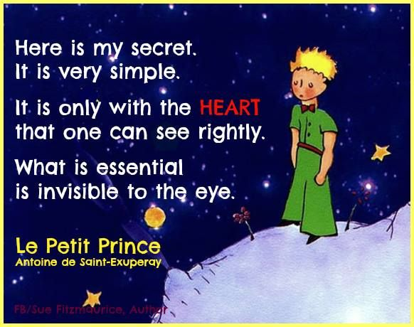 The Little Prince Quotes That Will Inspire You Wit And: Le Petit Prince Quotes English. QuotesGram