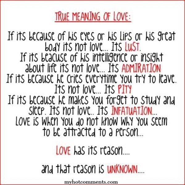 What Is Meaning Of Love: Meanings Quotes. QuotesGram