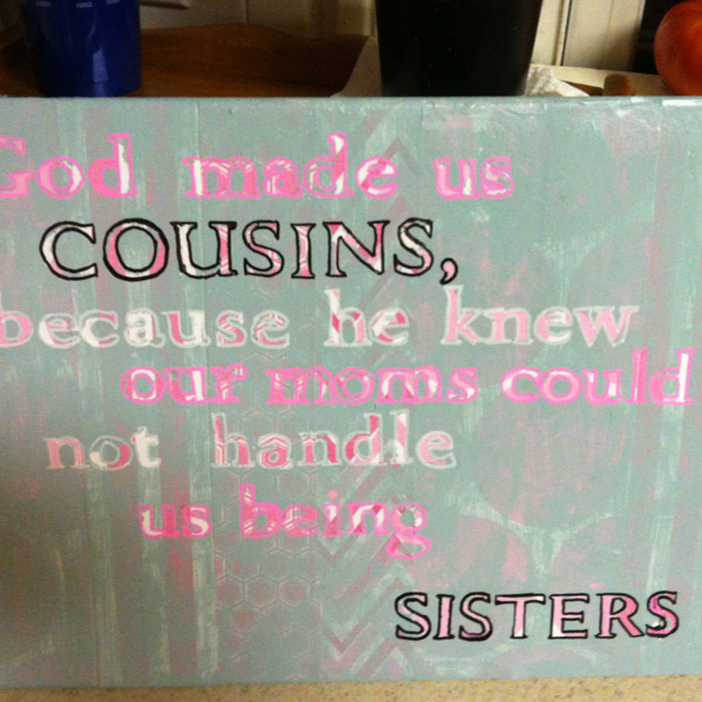 cousin quotes for scrapbooking quotesgram