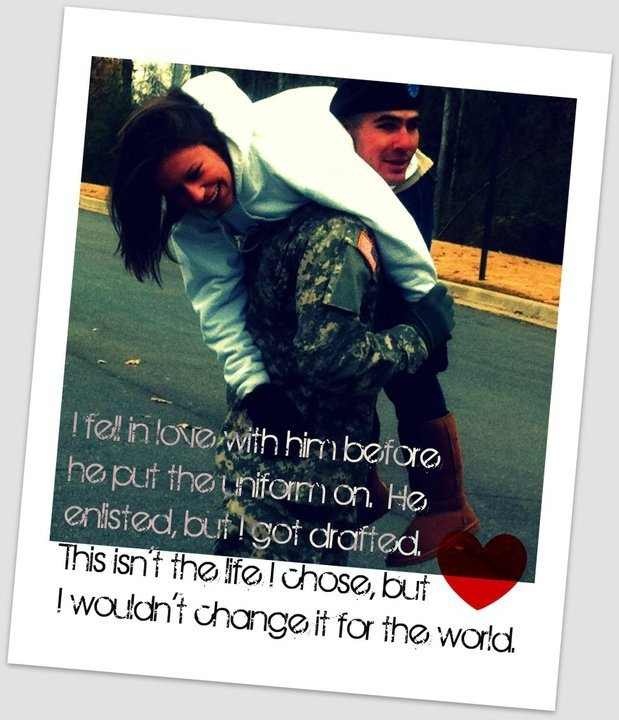 Military Love Quotes For Him: Army Love Quotes For Him. QuotesGram