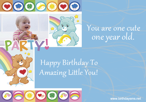 Baby Birthday Wishes Quotes. QuotesGram
