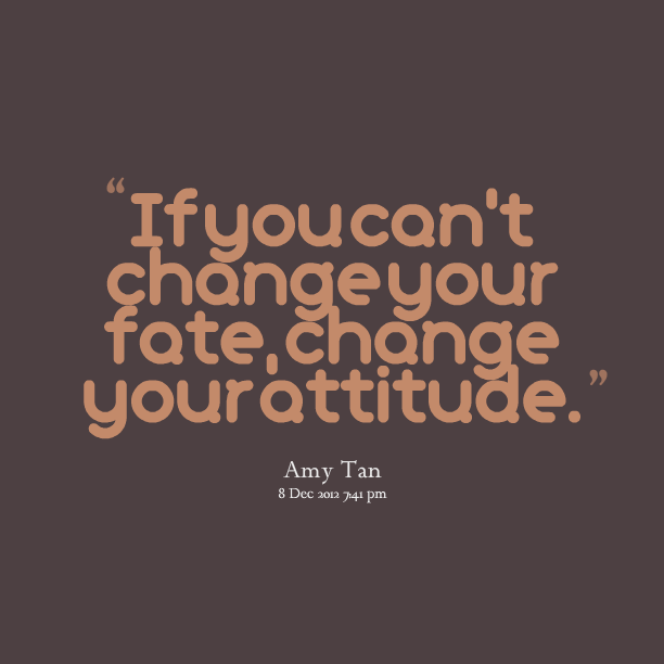 Change Your Attitude Quotes: Chang Community Quotes. QuotesGram